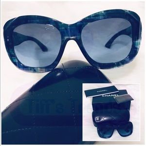 CHANEL•Blue 5324 c.1490/S2🕶️Sunglasses💯Authentic